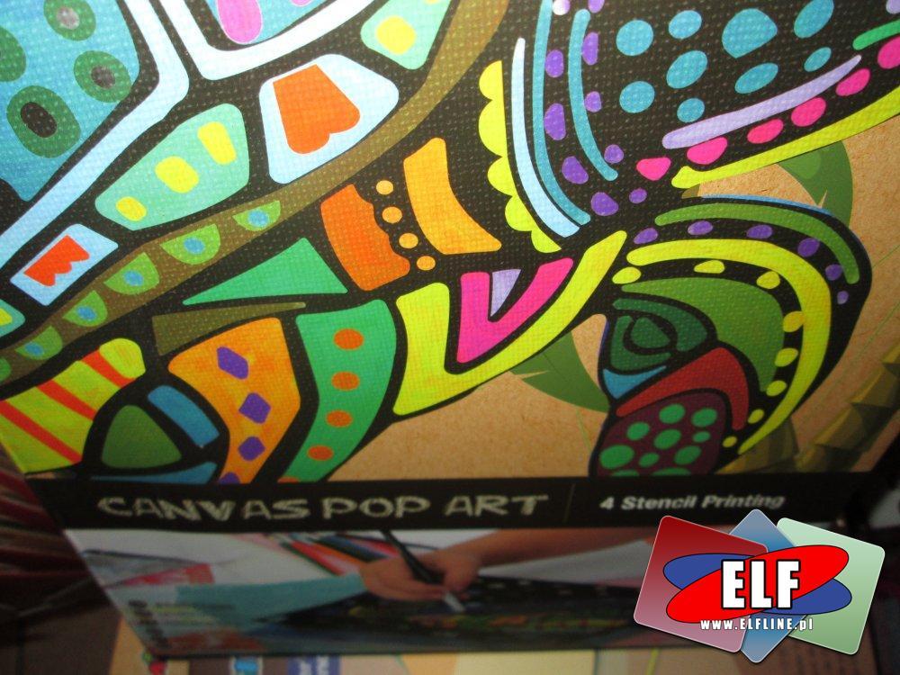 Canvaspop art, Twórz niesamowite obrazy na płótnie, zestaw kreatywny, artystyczny, zestawy artystyczne, kreatywne