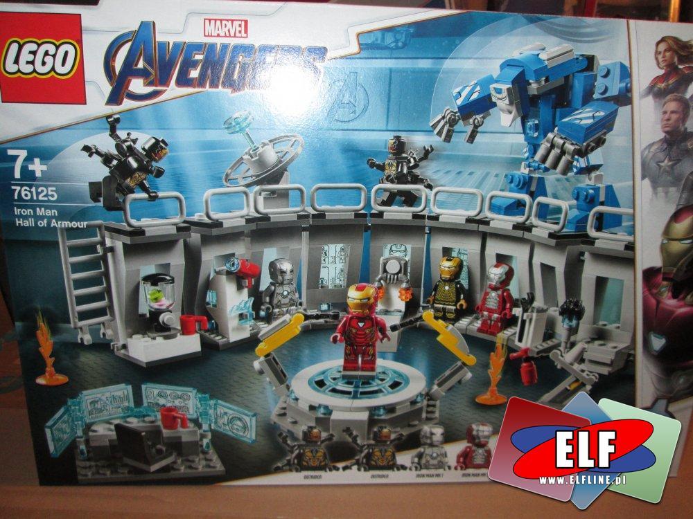 Lego Marver Avengers, 76125 Zbroje Iron Mana, klocki