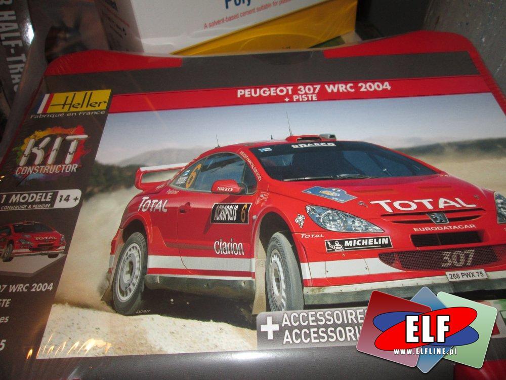 Modele do sklejania, Model sklejany, Peugeot, Subaru Impreza, Mini Cooper i inne modele