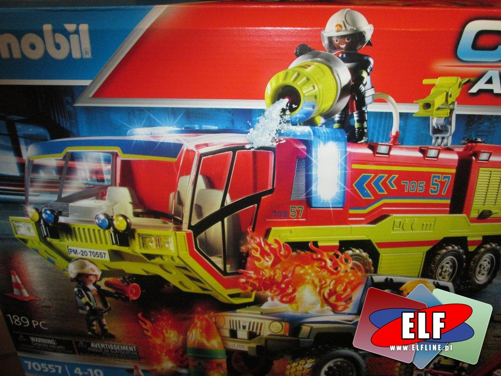 Playmobil, 70557, Wóz straży pożarnej, straż pożarna