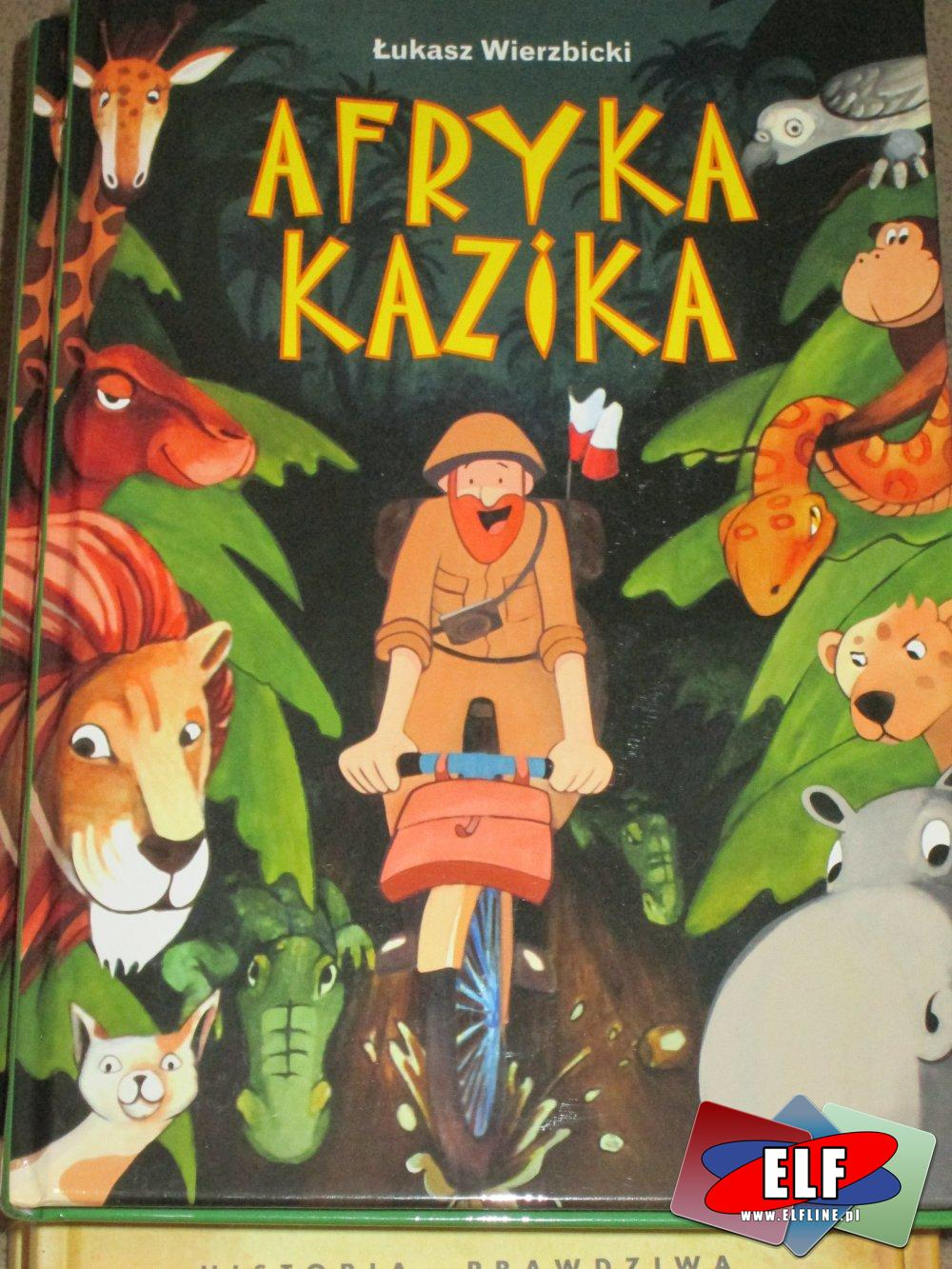 Afryka Kazika - Lektury szkolne - Lektura szkolna - Książka, Książki
