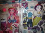 My Little Pony Lalki, Parity, Pinkie Pie, Equestria Girls i inne lalki, Lalka