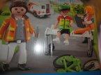 Playmobil, 70050, 70053, 70049, 70048, 70051, 70052, klocki Playmobil, 70050 Samochód ratowniczy ze światłem i dźwiękiem, 70053 Quad Z Przyczepą Ratunkową, 70049 Karetk...