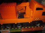 Samochód, pojazd, duży, duże, plastikowe, Straż pożarna, Ciężarówka z podnośnikiem, samochody zabawki