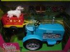 Barbie Farm, Traktor z przyczepką
