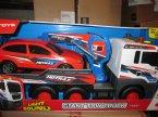 Light Sound, Giant Tow Truck, Samochód zabawka ciężarowy z osobowym