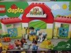 Lego Duplo, 10951 Stadnina i kucyki, 10950 Traktor i zwierzęta gospodarskie, klocki Lego Duplo, 10951 Stadnina i kucyki, 10950 Traktor i zwierzęta gospodarskie, klocki