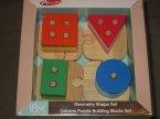 Acool Toy, Klocki edukacyjne geometryczne puzzle
