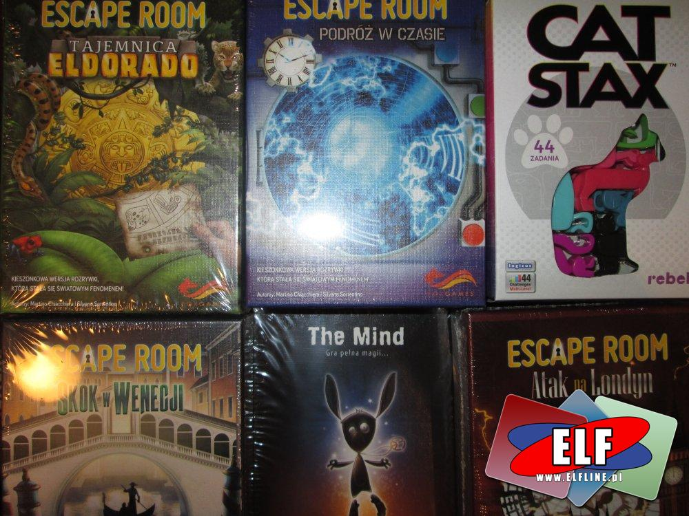 Gry z serii Escape Room i inne gry
