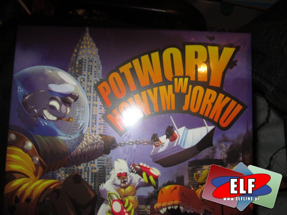 Gra Potwory w Nowym Jorku, Gry