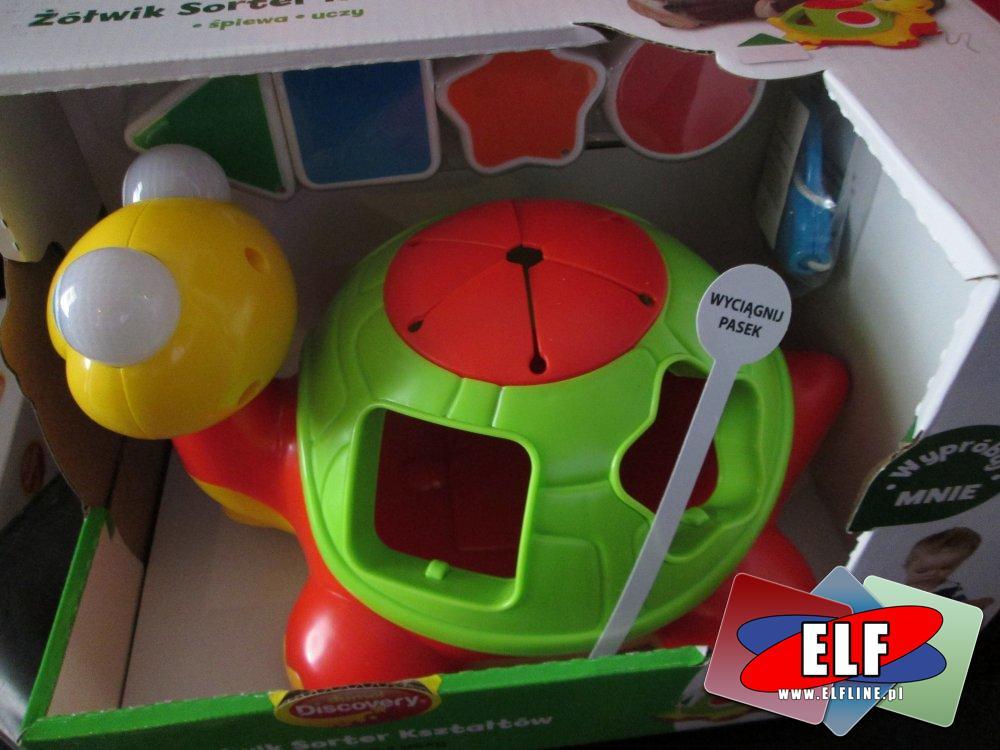 Dumel Discovery, Żółw edukacyjny, zabawka edukacyjna, edukacyjne zabawki