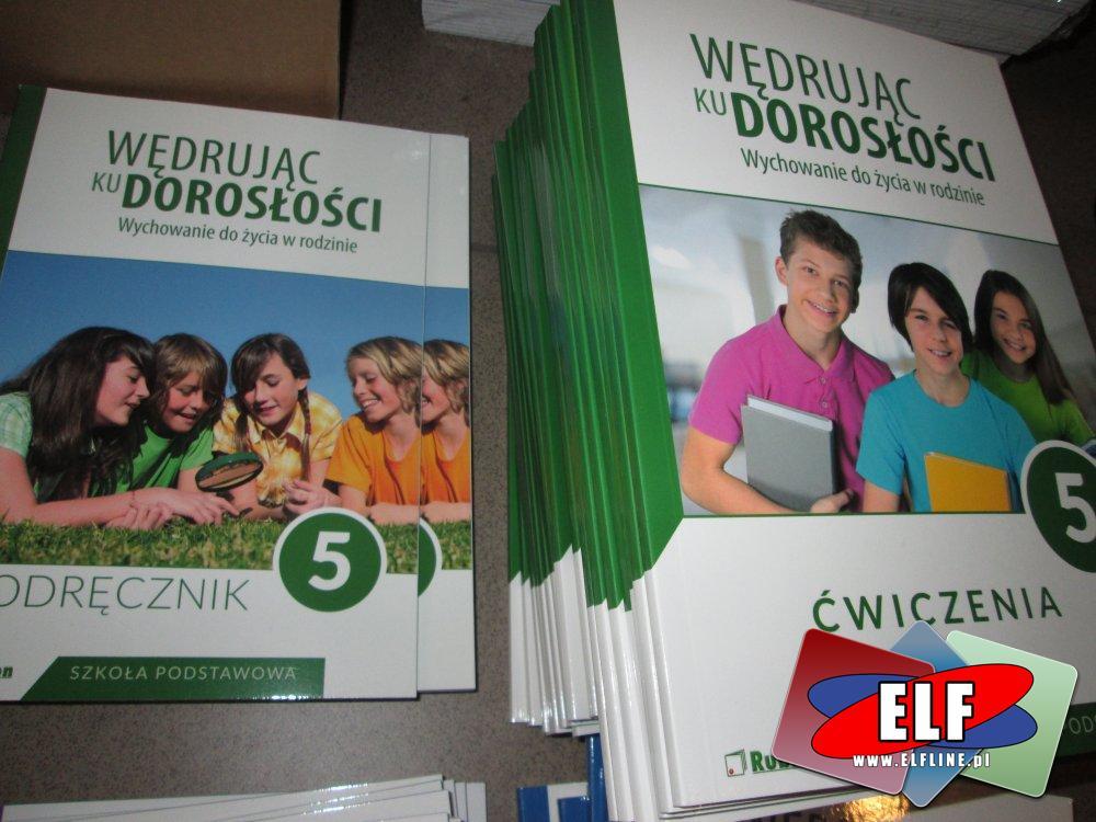 Książki do szkoły podstawowej, Podręcznik i Ćwiczenia Wędruj ku dorosłości + wychowanie do życia w rodzinie, Podręczniki szkolne