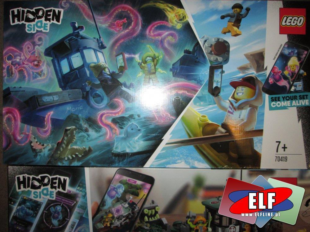 Lego Hidden Side, 70419, 70420, klocki
