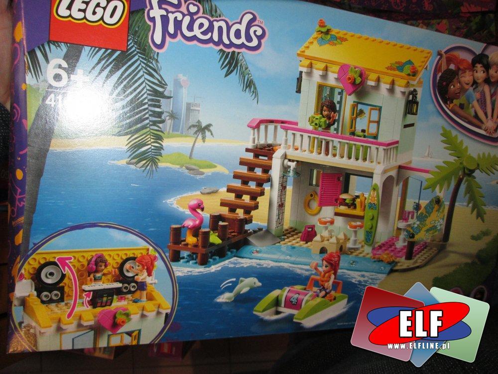 Lego Friends, 41428, Domek na plaży, klocki