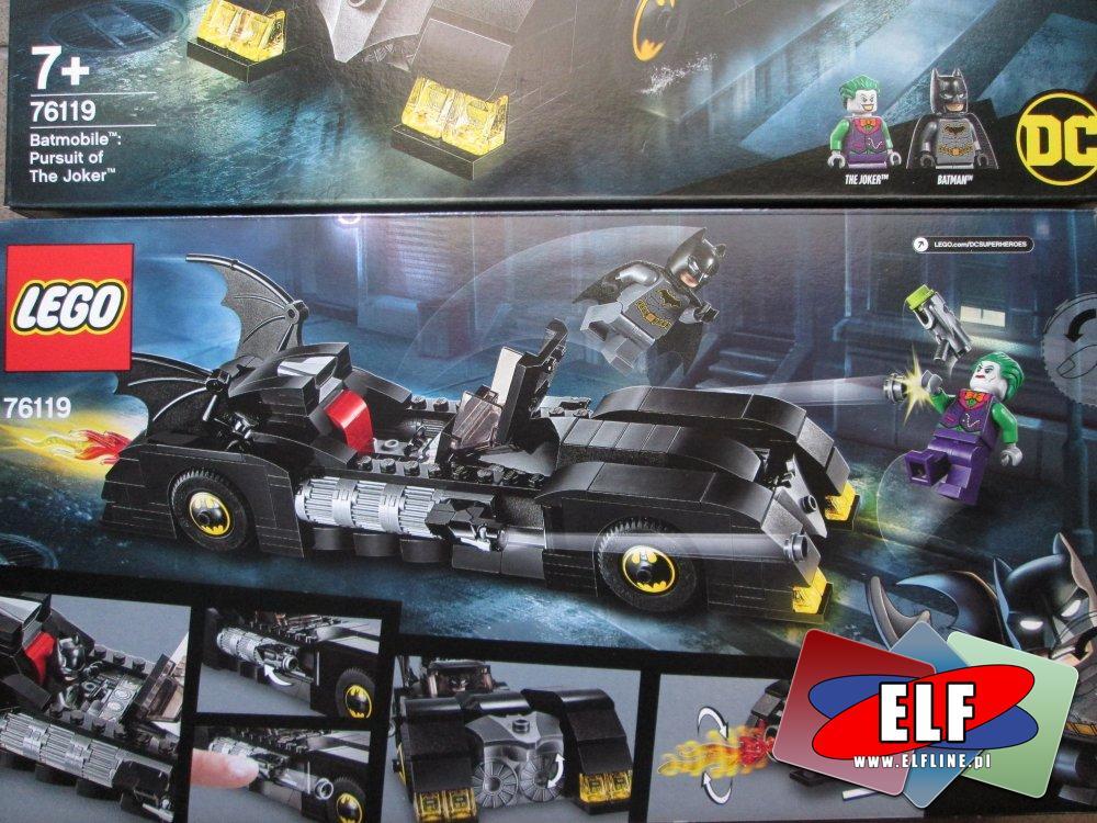 Lego Super Heroes, Batman, 76119 Batmobile, klocki