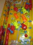 Wędka, zabawa w łowienie rybek, rybki, gra, gry, zabawka, zabawki, rybki