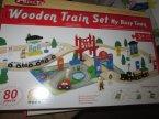 Wooden Train Set, Drewniana kolejka, Kolejki drewniane i inne zabawki z drewna
