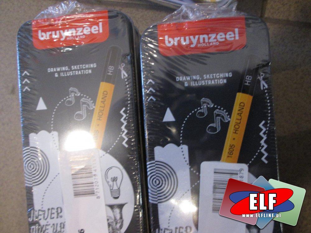 Bruynzeel, ołówki różnych twardości, ołówek