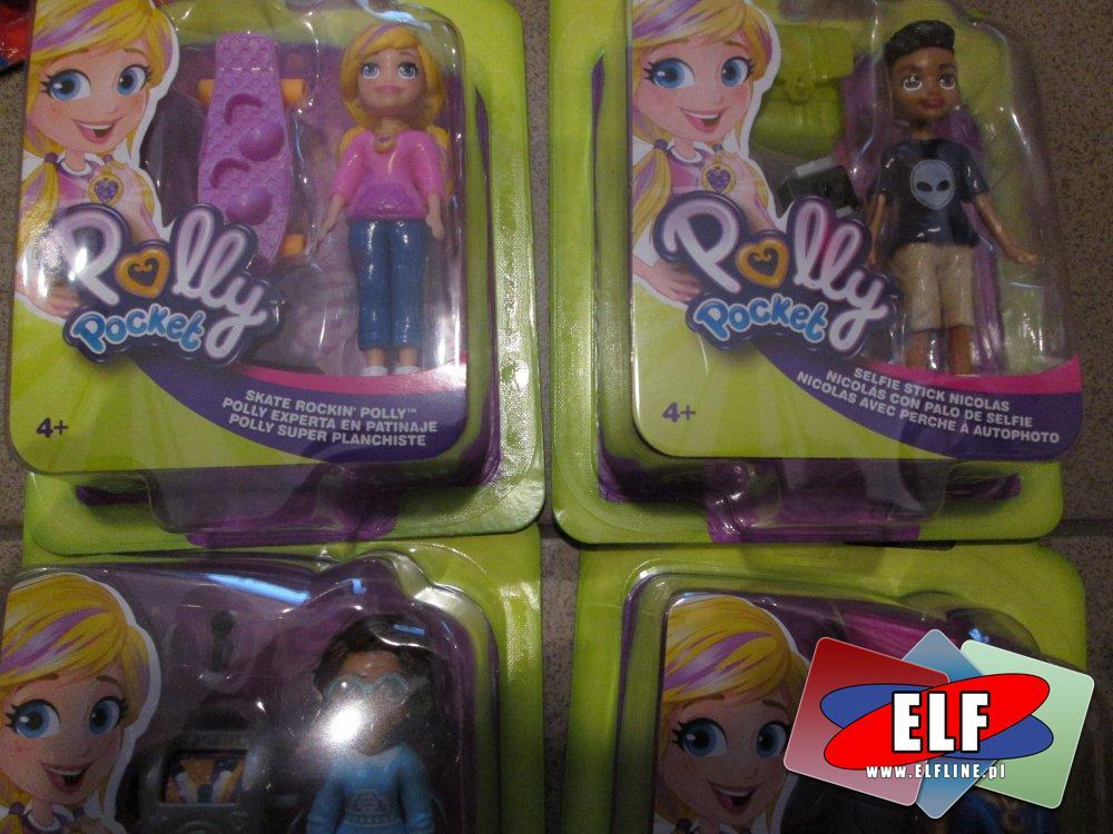 Polly Pocket, Laleczki i akcesoria, laleczka, lalka, lalki