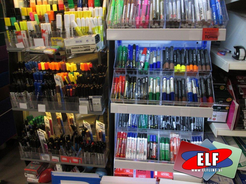Zszywacze, Dziurkacze, Zakreślacze, Cienkopisy, Mazaki, Flamastry i inne akcesoria biurowe i papiernicze