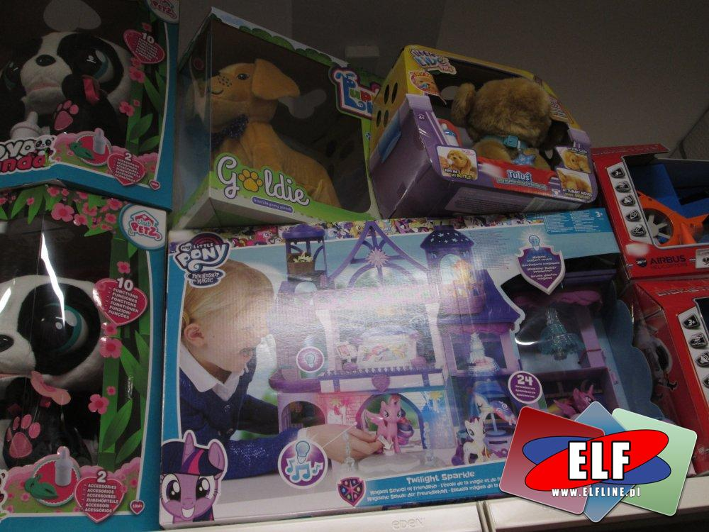 Yoyo Panda, My little Pony zamek, Little live Pets, Goldie i inne zabawki
