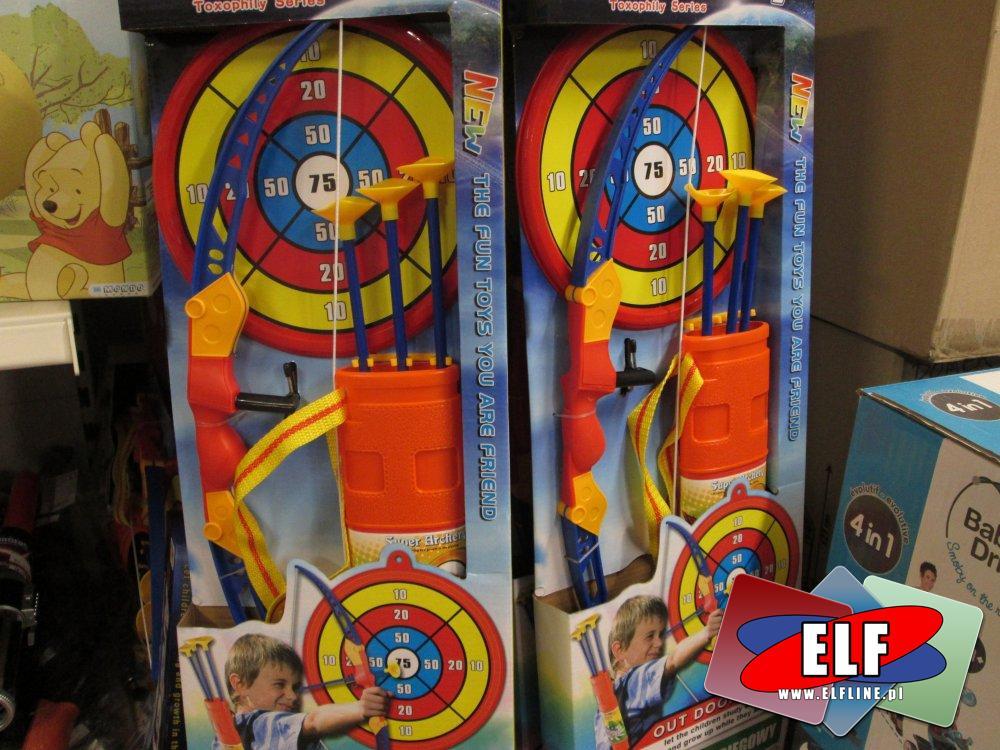 Łuk ze strzałami, zabawka, zabawki, Łuki