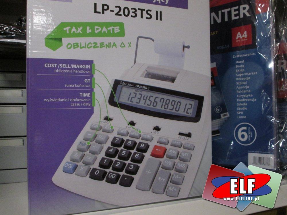 Kalkulator z drukarką, LP-203TS II, Kalkulatory