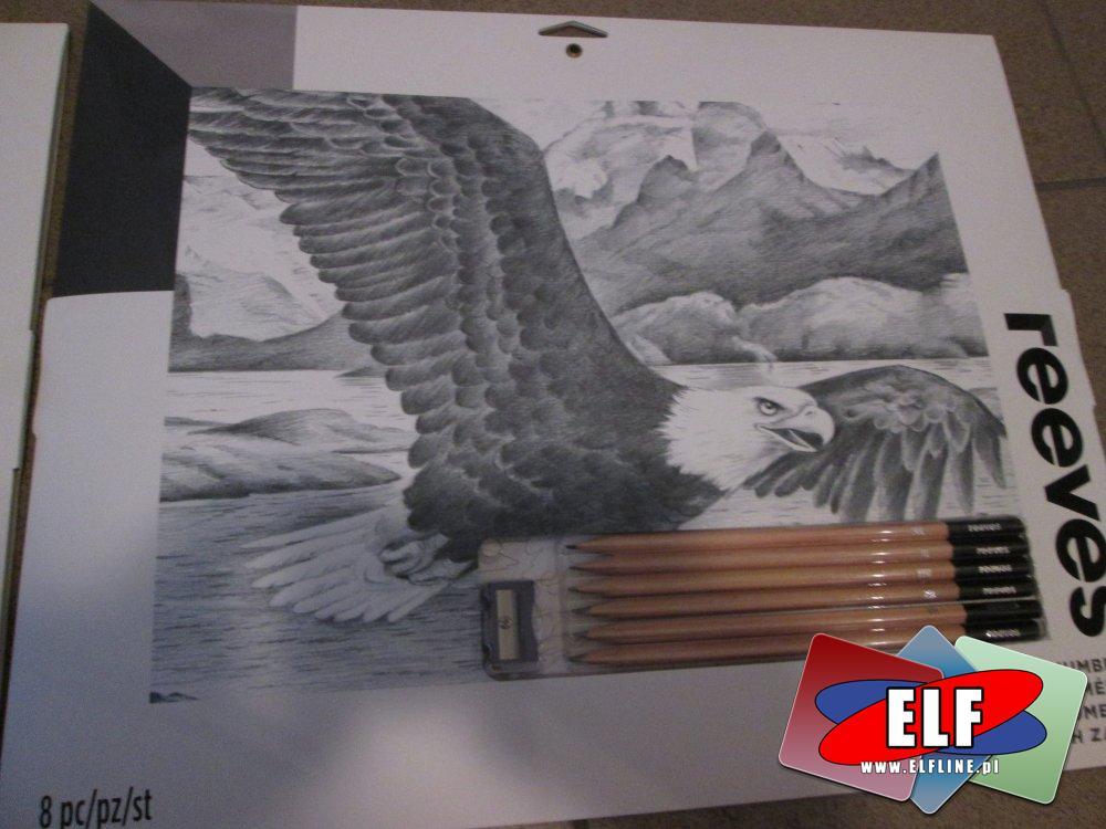 Reeves, Zestawy do szkicowania, rysunku, zestaw artystyczny