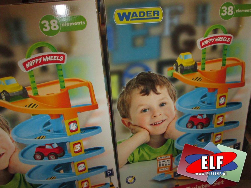Wader, Tor samochodowy zjeżdżalnia, Tory zjeżdżalnie samochodowe