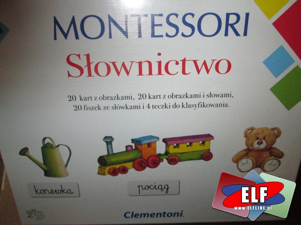 Gra Montessori, Słownictwo, Gry edukacyjne, Gra edukacyjna