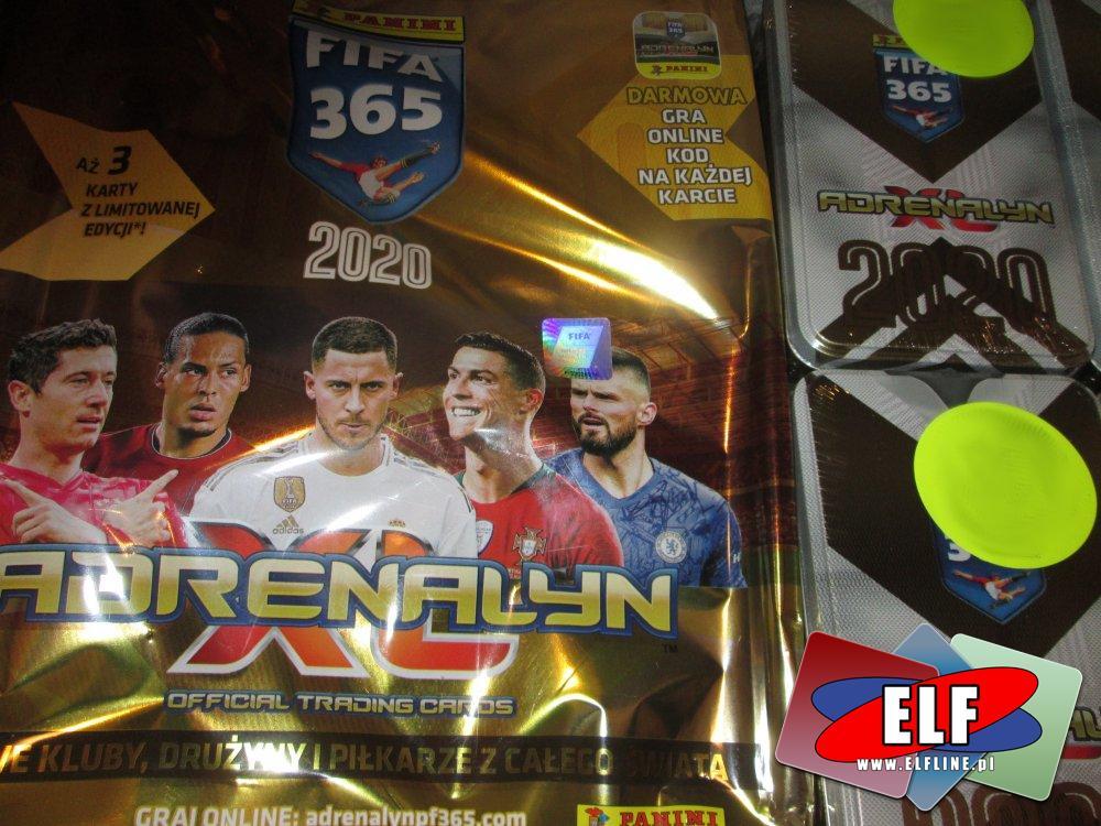Adrenalyn Fifa 365, 2020, karty do gry i kolekcjonowania, karty kolekcjonerskie, do grania i zabawy