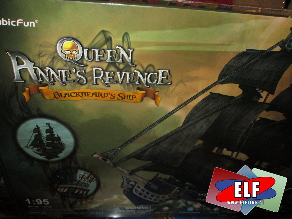 Queen Anne s Revenge, Blackbeard s Ship, Statek piracki, Statki pirackie, Królowa Anna, model, modele