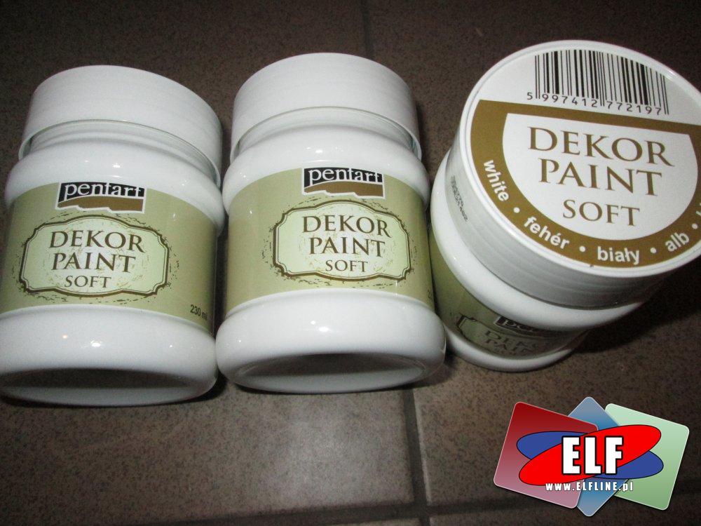 Pentart, Dekor Paint Soft, farby kredowe, farba kredowa