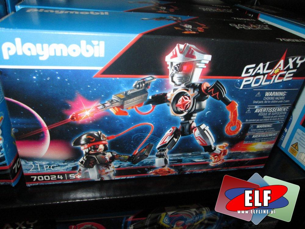 Playmobil, Galaxy Police, 70024, 70020, 70019, 70022, 70021, 70023, 70018, klocki