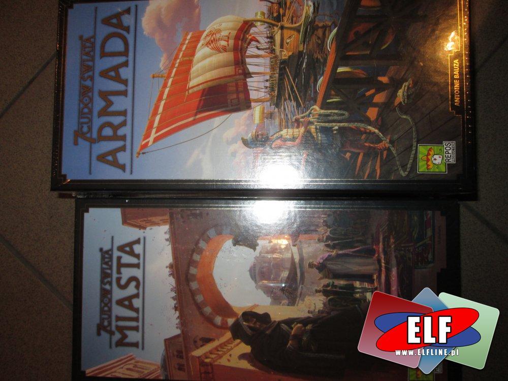 Gra 7 cusów Świata, Miasta, Armada, Gry