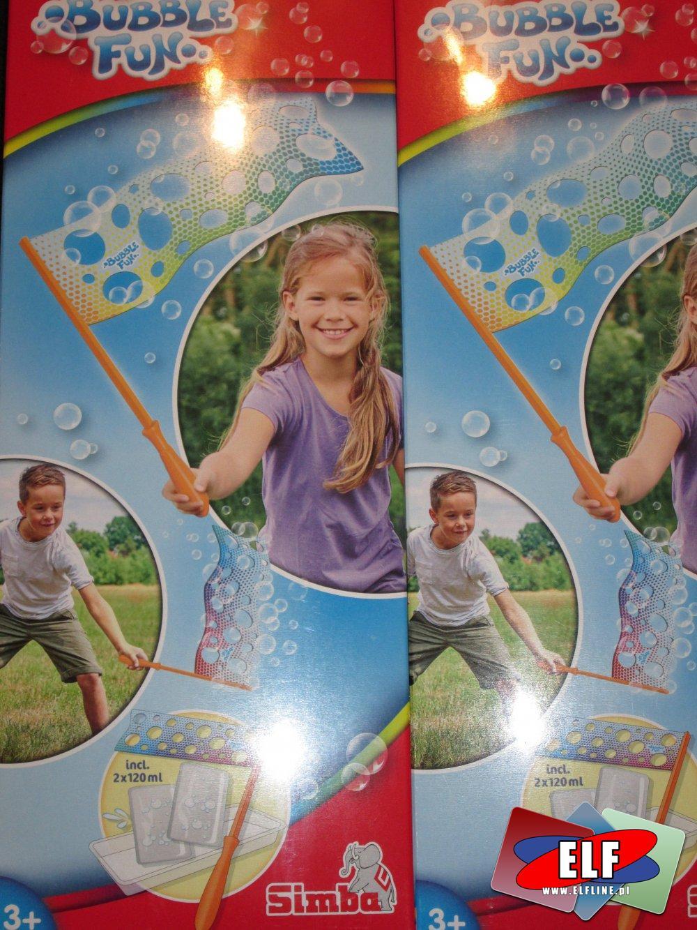Bubble Fun, Simba, Sprzęt do puszczania baniek mydlanych, Bańki mydlane