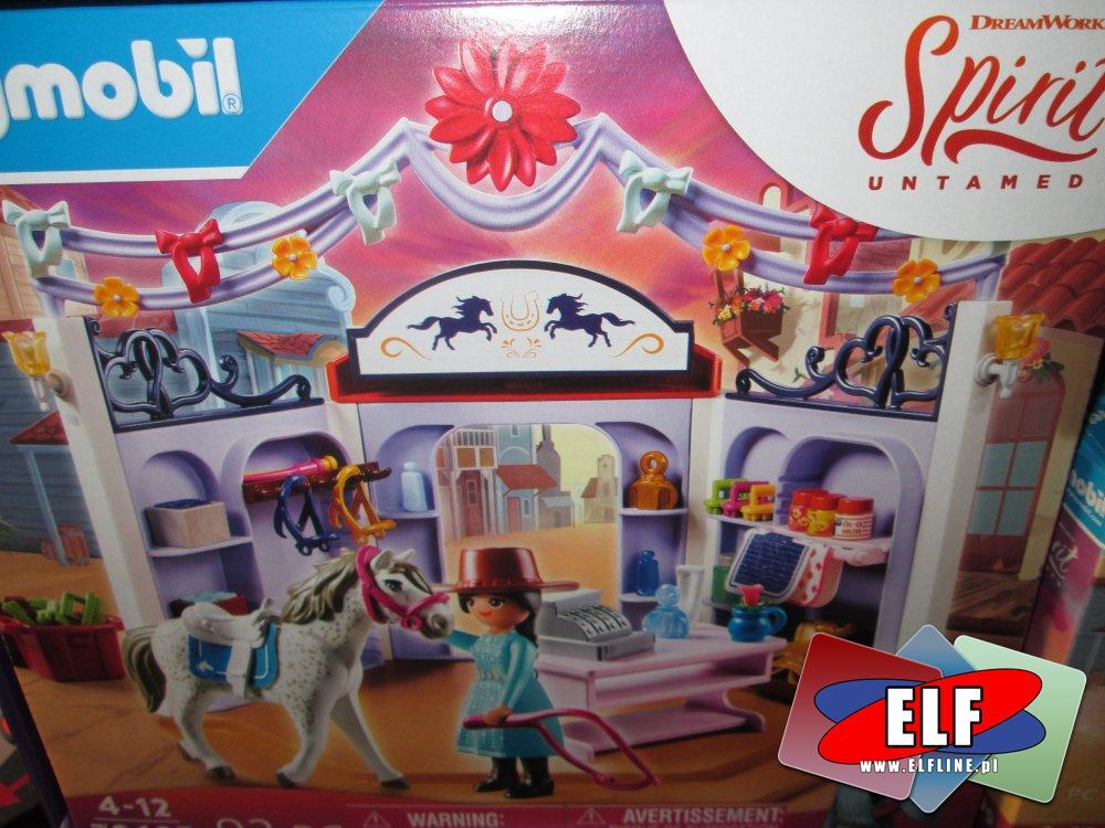 Playmobil Spirit, 70694, 70695, 70696, 70698, 70697, 70699, klocki, zabawki