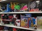 Pistolet i Tarcza, Dyskopiłka, Piłka do skakania i inne zabawki