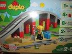 Lego Duplo, 10872 Tory kolejowe i wiadukt, klocki Lego Duplo, 10872 Tory kolejowe i wiadukt, klocki