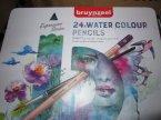 Bruynzeel 24 wodne kolory, kredki akwarelowe Bruynzeel 24 wodne kolory, kredki akwarelowe