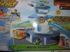 Super Wings, lotnisko, zestaw, zabawka