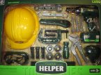Gool Life Helper, Narzędzia, Zestaw narzędzi małego majsterkowicza, Narzędzia zabawkowe, zabawk... Gool Life Helper, Narzędzia, Zestaw narzędzi małego majsterkowicza, Narzędzia zabawkowe, zabawka, Hełm, Imadło, Wkr...