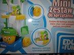 Mini zestaw do sprzątania, zabawka edukacyjna, zabawki edukacyjne EDU & FUN