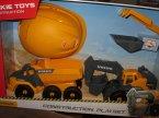 Volvo, Construction Playset, zabawka, zabawki, maszyna budowlana, maszyny budowlane, wywrotka, koparka, wywrotki, koparki