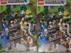 Lego Minecraft, 21169 Pierwsza przygoda, klocki