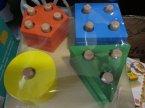 Zabawki drewniane, Łamigłówki dla dzieci, Łamigłówka, zabawka edukacyjna z drewna