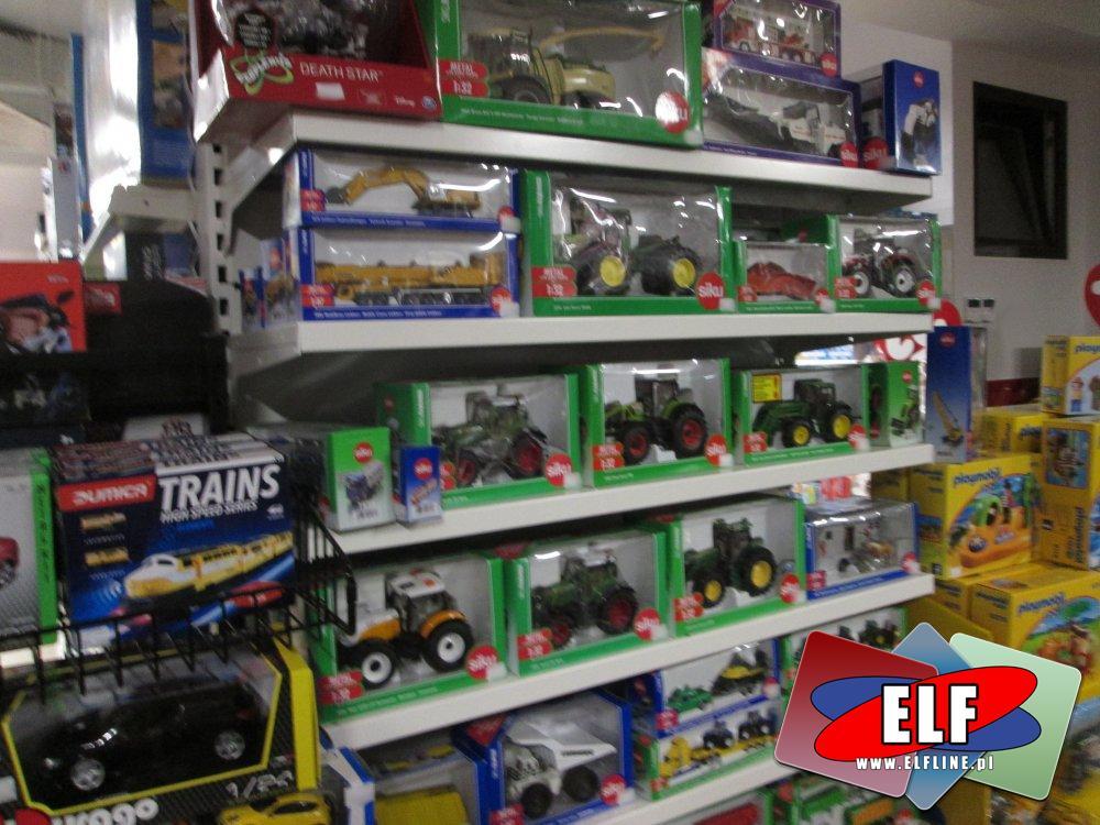 Siku, Traktory, Maszyny rolnicze, Samochody Burago i inne zabawki