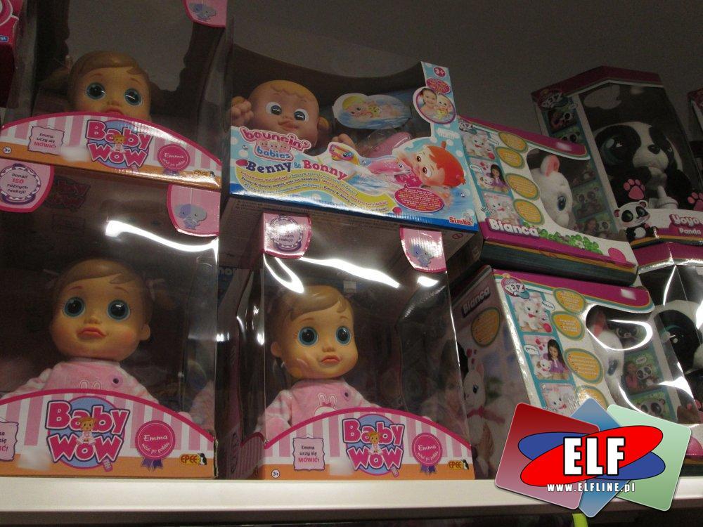 Baby Wow, lalka, lalki, Kotek Bianca i inne zabawki