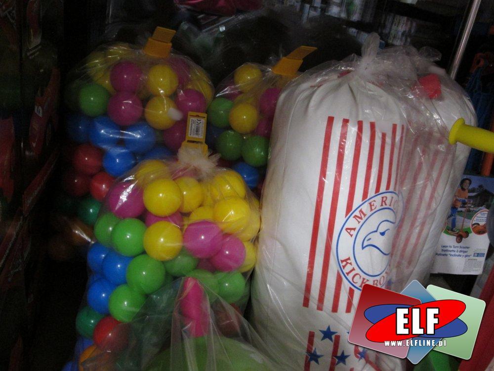 Worek bokserski, Worki do boksowania, Kulki plastikowe do zabawy i inne zabawki