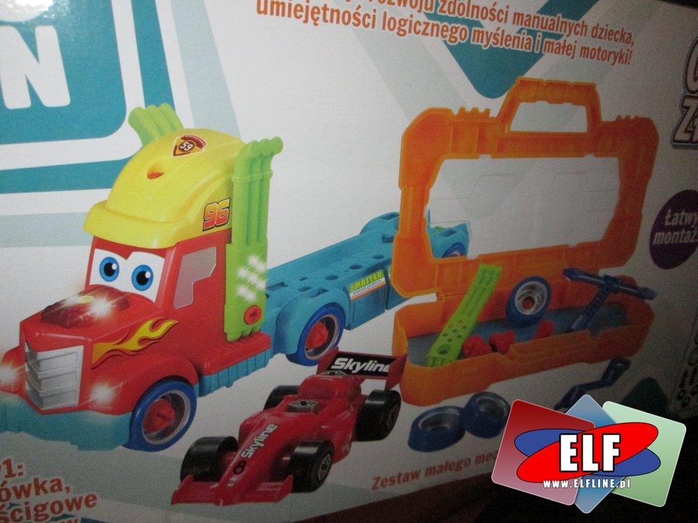 Ciężarówka złotej rączki, zabawka kreatywna, zabawki kreatywne, samochód, samochody